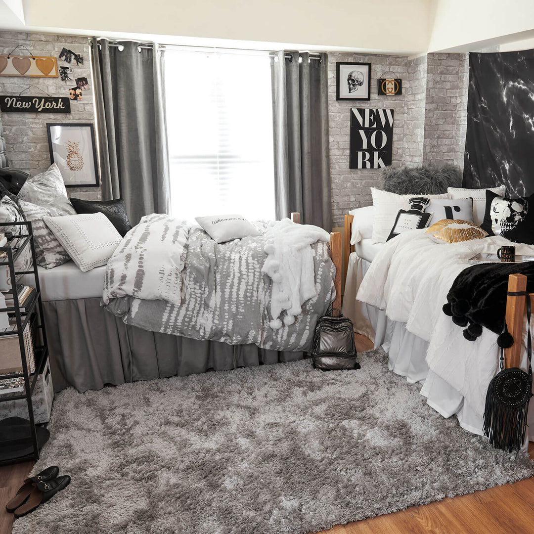 Grey And White Brick Removable Wallpaper
