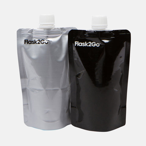 Flask 2 Go - The Disposable Flask (Set of 2)