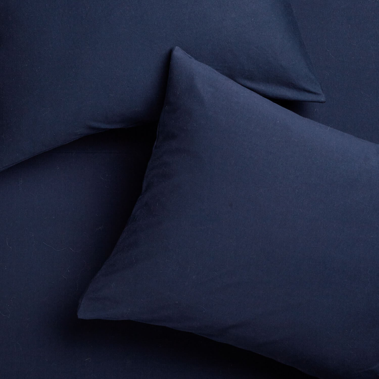 Super Soft T-Shirt Jersey Pillowcase Set - Navy - Navy