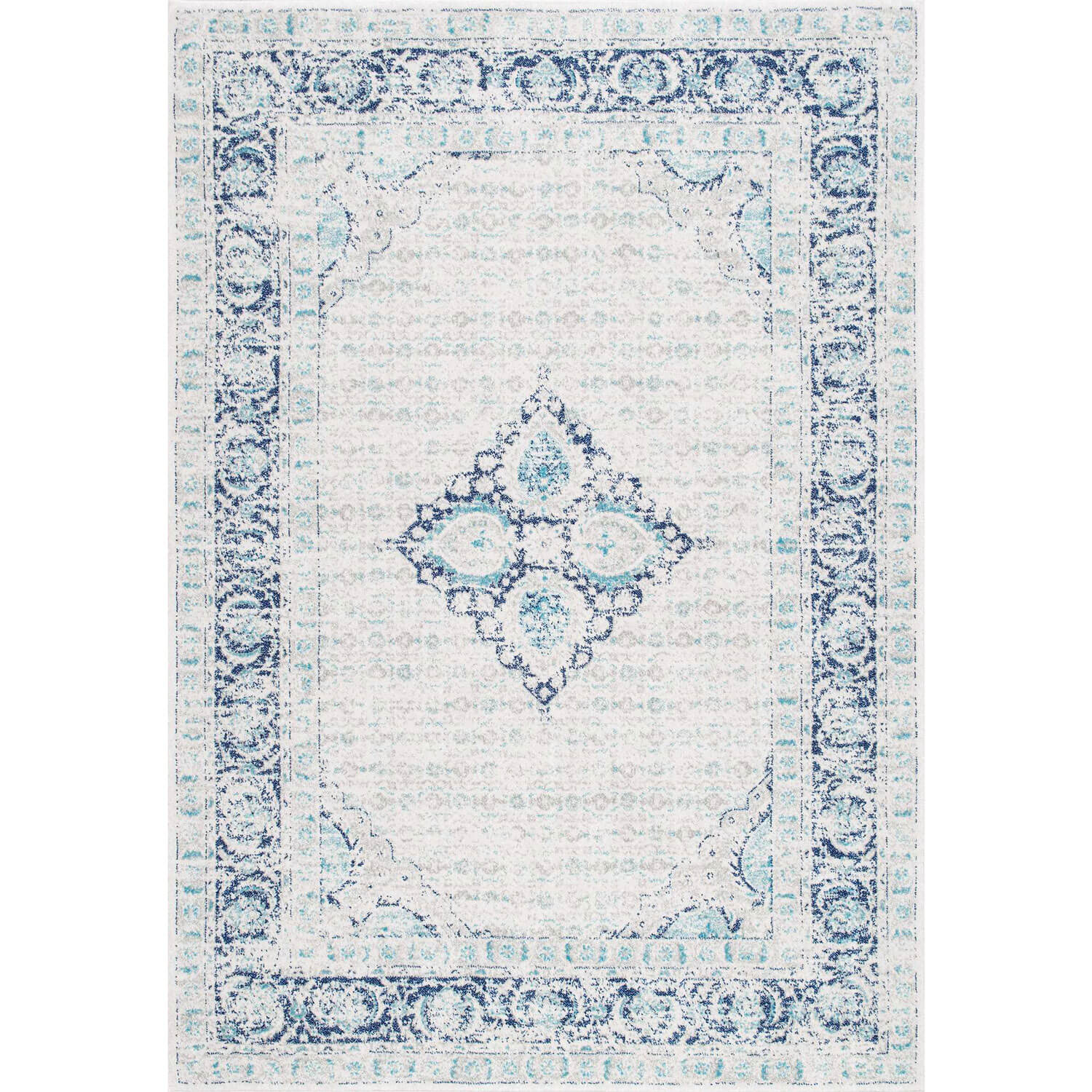 Vintage Throw Rugs: Poppy Vintage Inspired Area Rug– Dormify