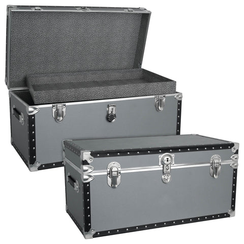 Oversized Locker Trunk with Tray