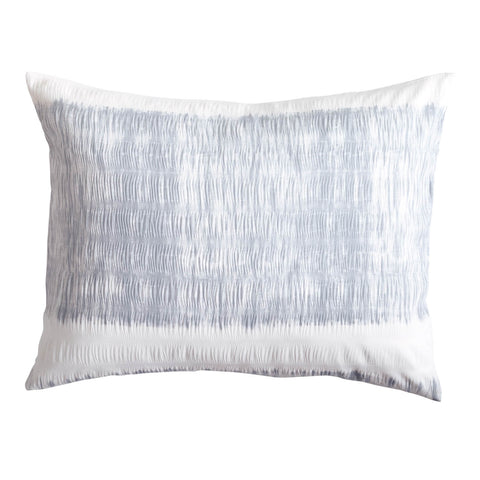 Tide Stripe Textured Standard Sham