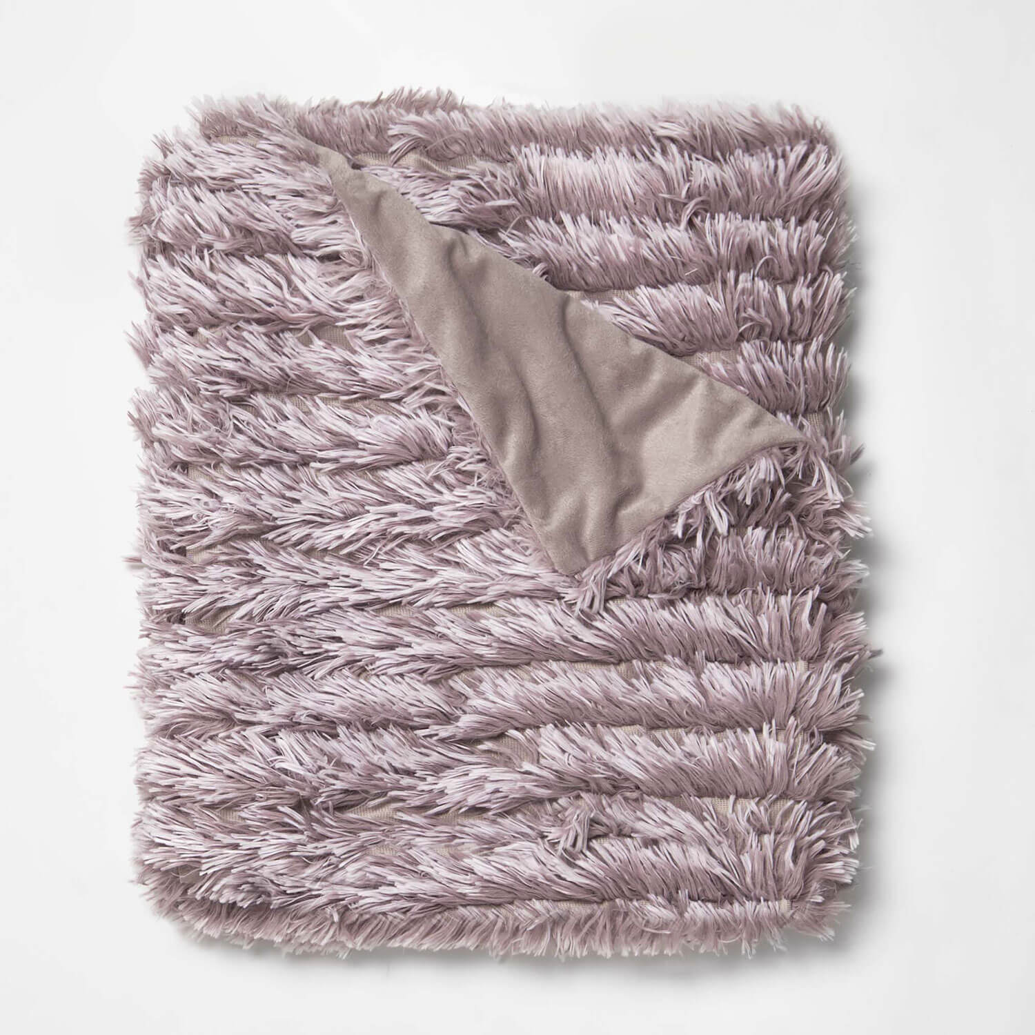 ruffled shag throw blanket - nirvana | bedding