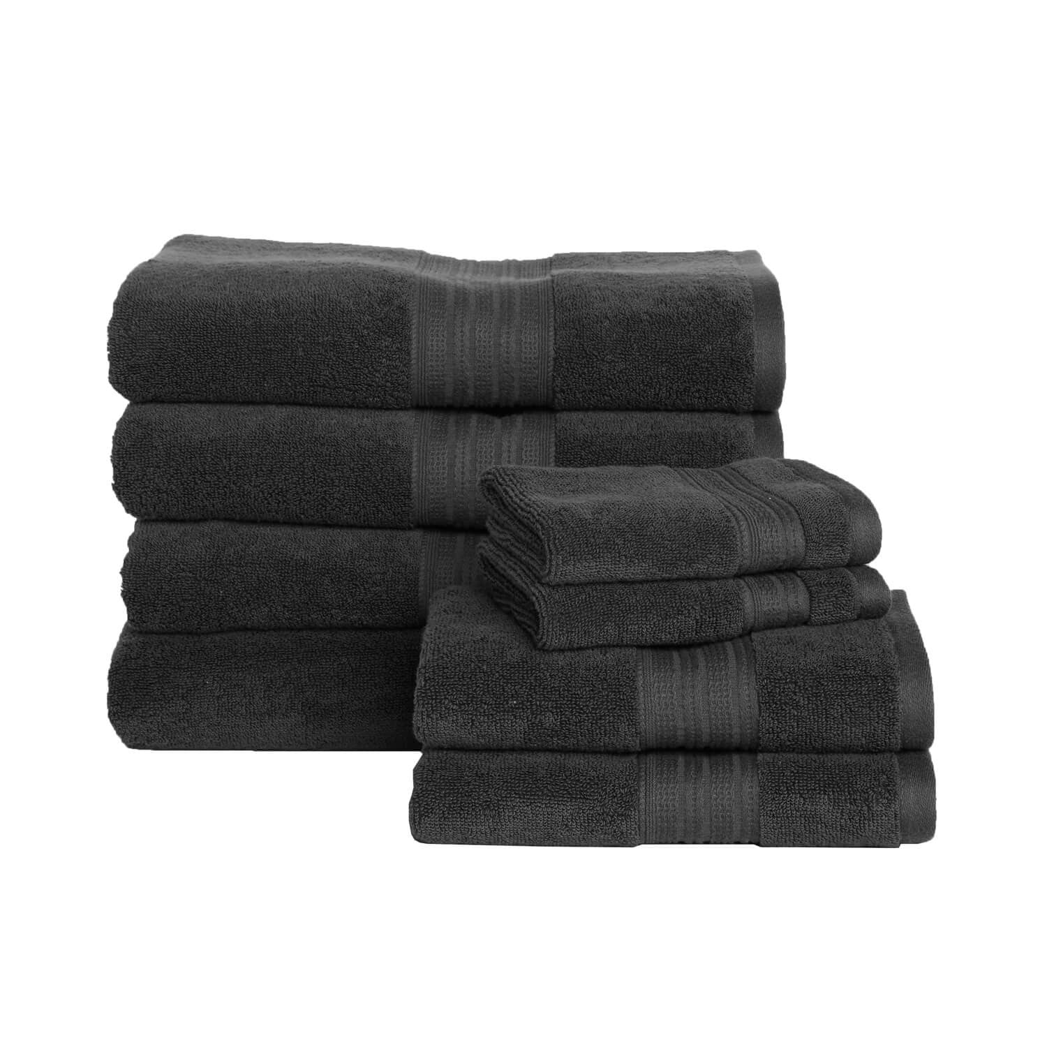 Luxe Towel Bundle - 15% SAVINGS - Charcoal
