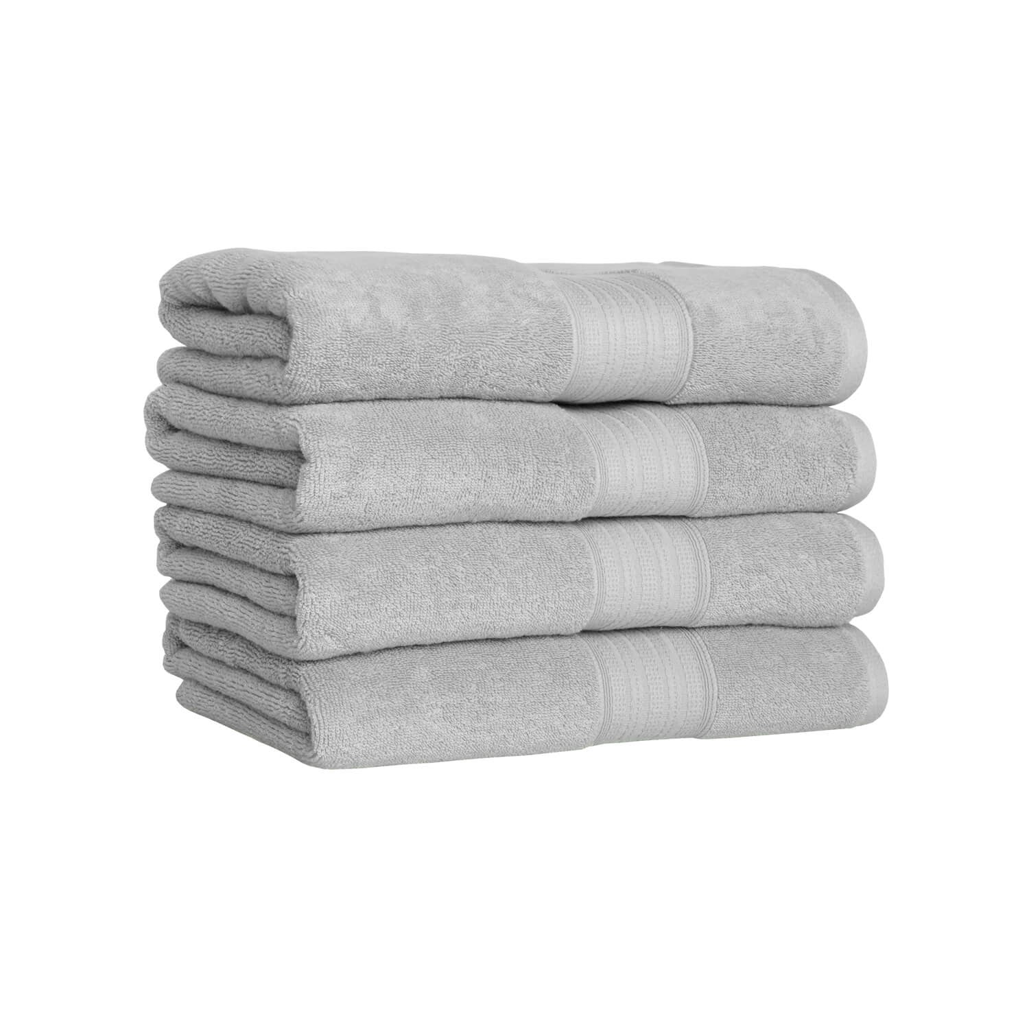 Luxe Bath Sheet - Light Grey