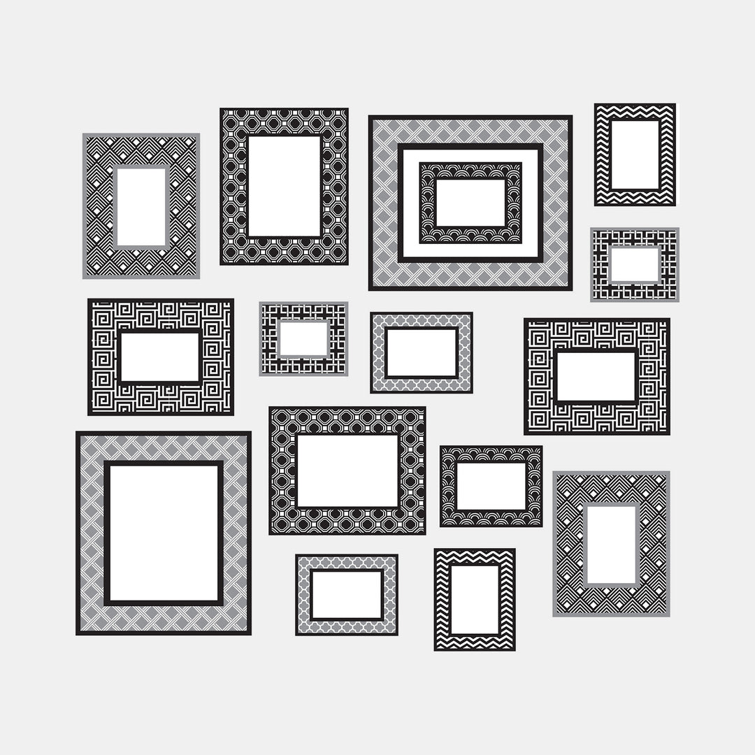 Gallery Wall Frames Decal Set – Dormify