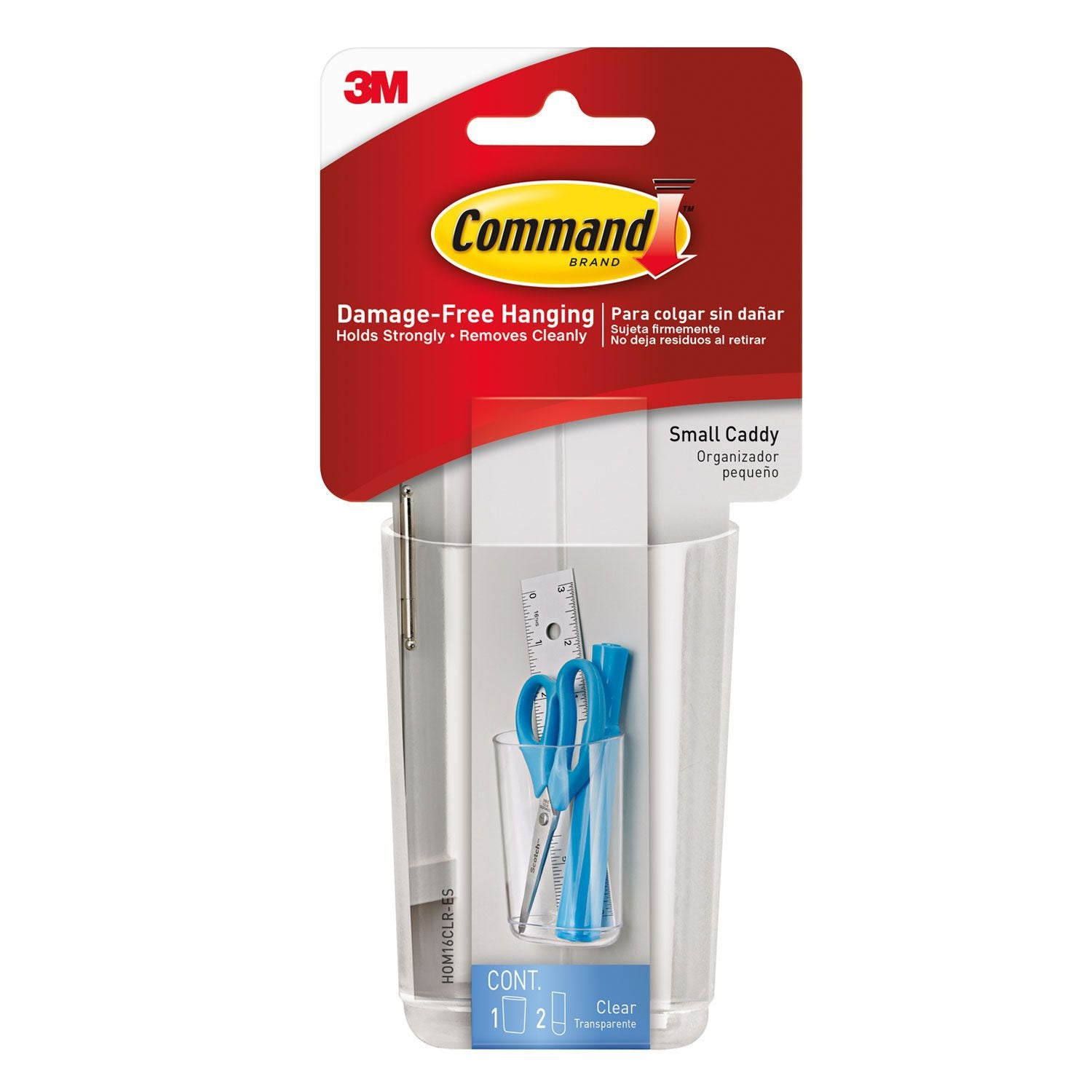 Command™ Clear Small Caddy