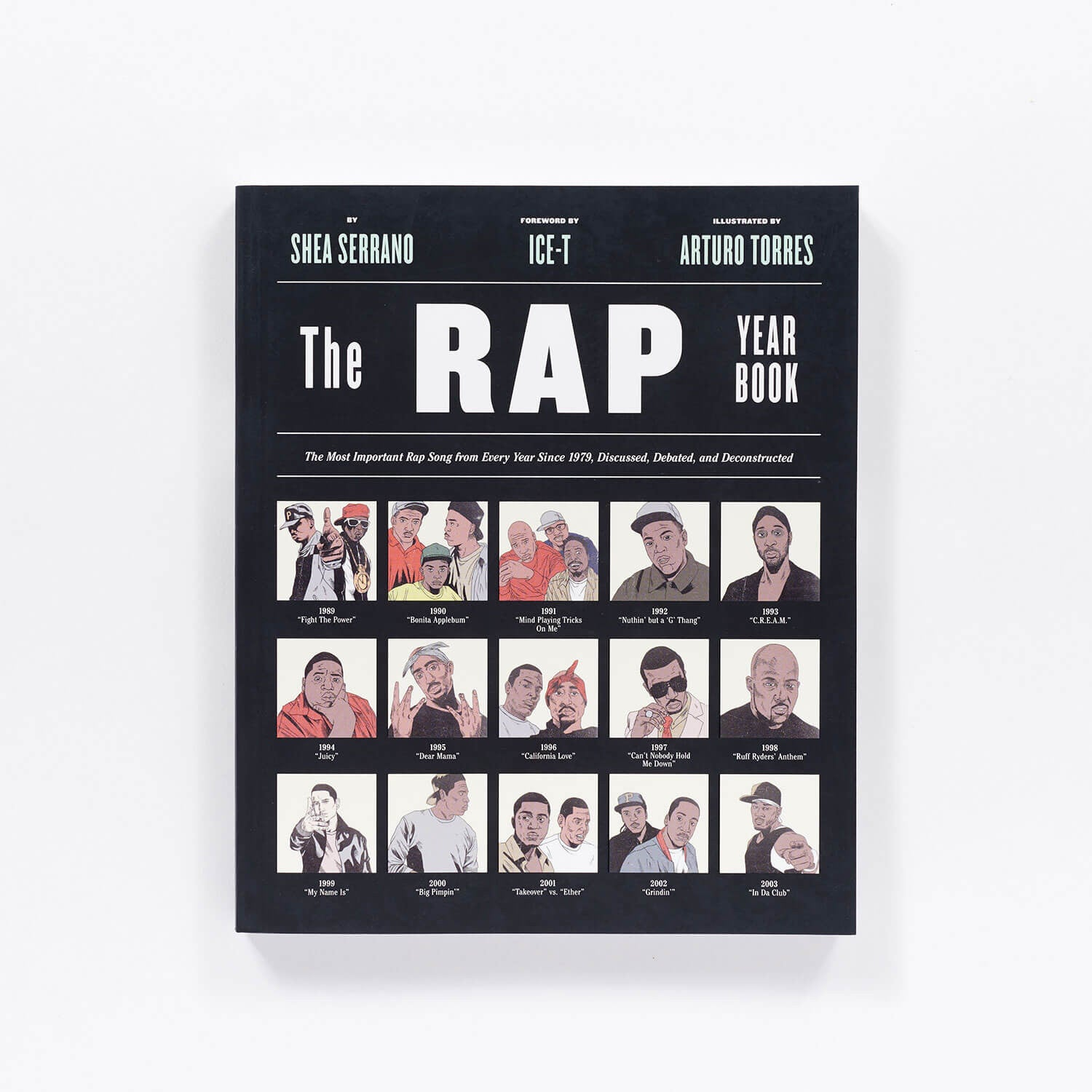 The Rap Yearbook Book
