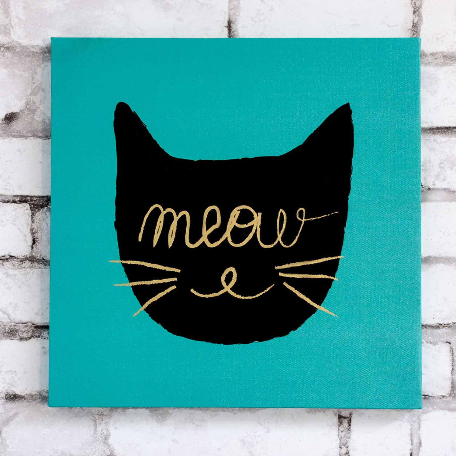 Meow Canvas