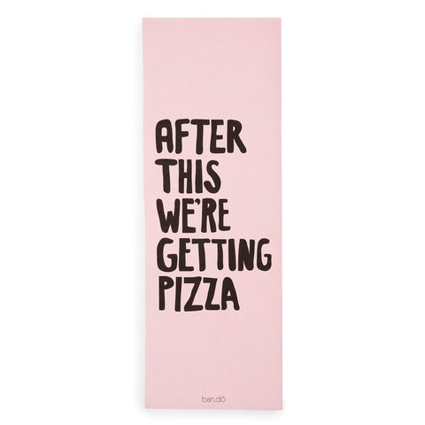 Getting Pizza Exercise Mat