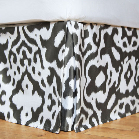 Urban Ikat Bed Skirt