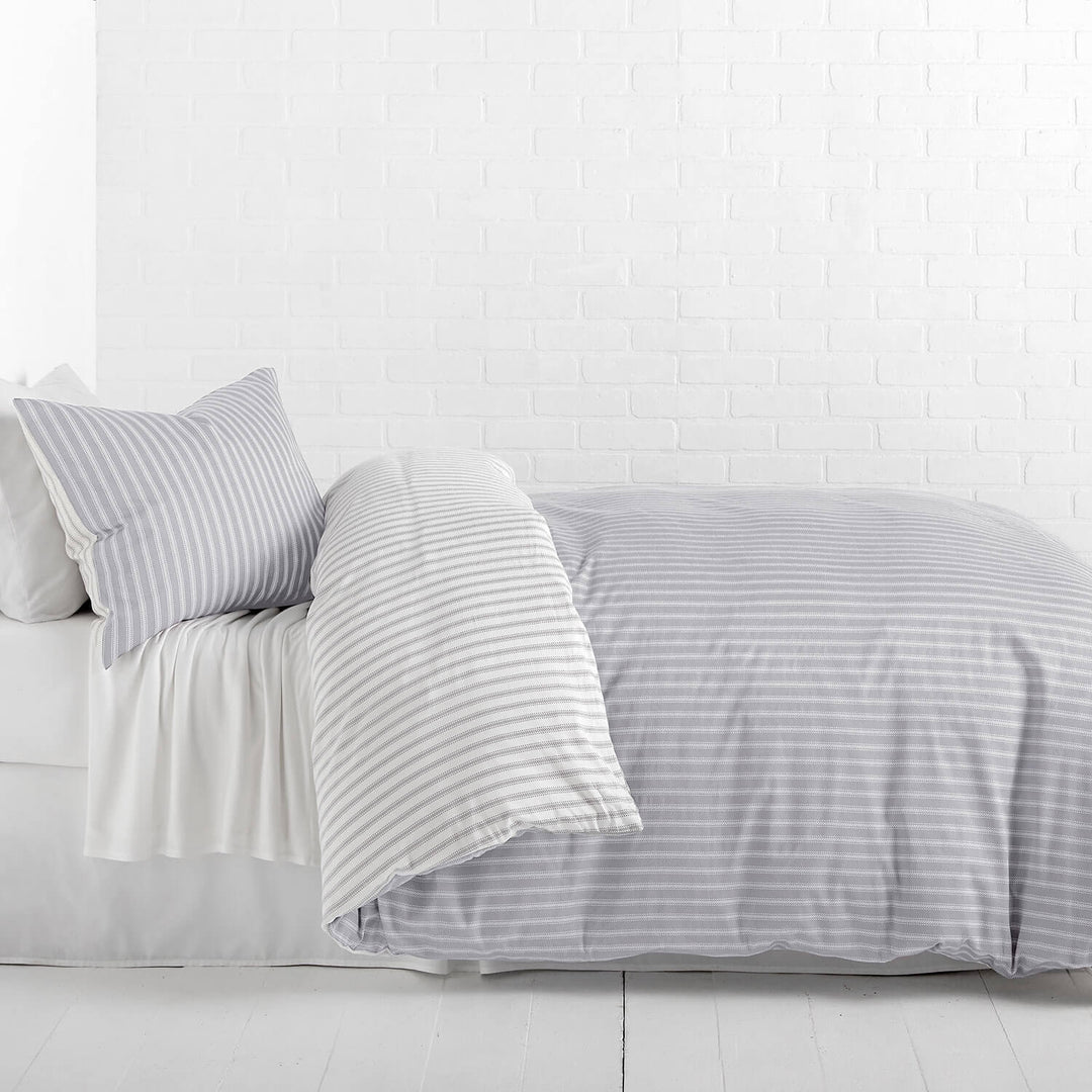 gray linen today shipping home free bath bedding duvet belgian cover product washed overstock set echelon