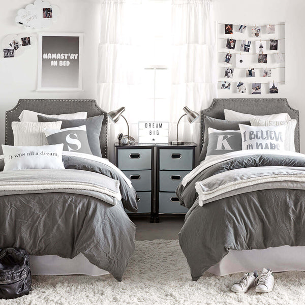 Soft Washed Duvet Cover And Sham Set Dormify