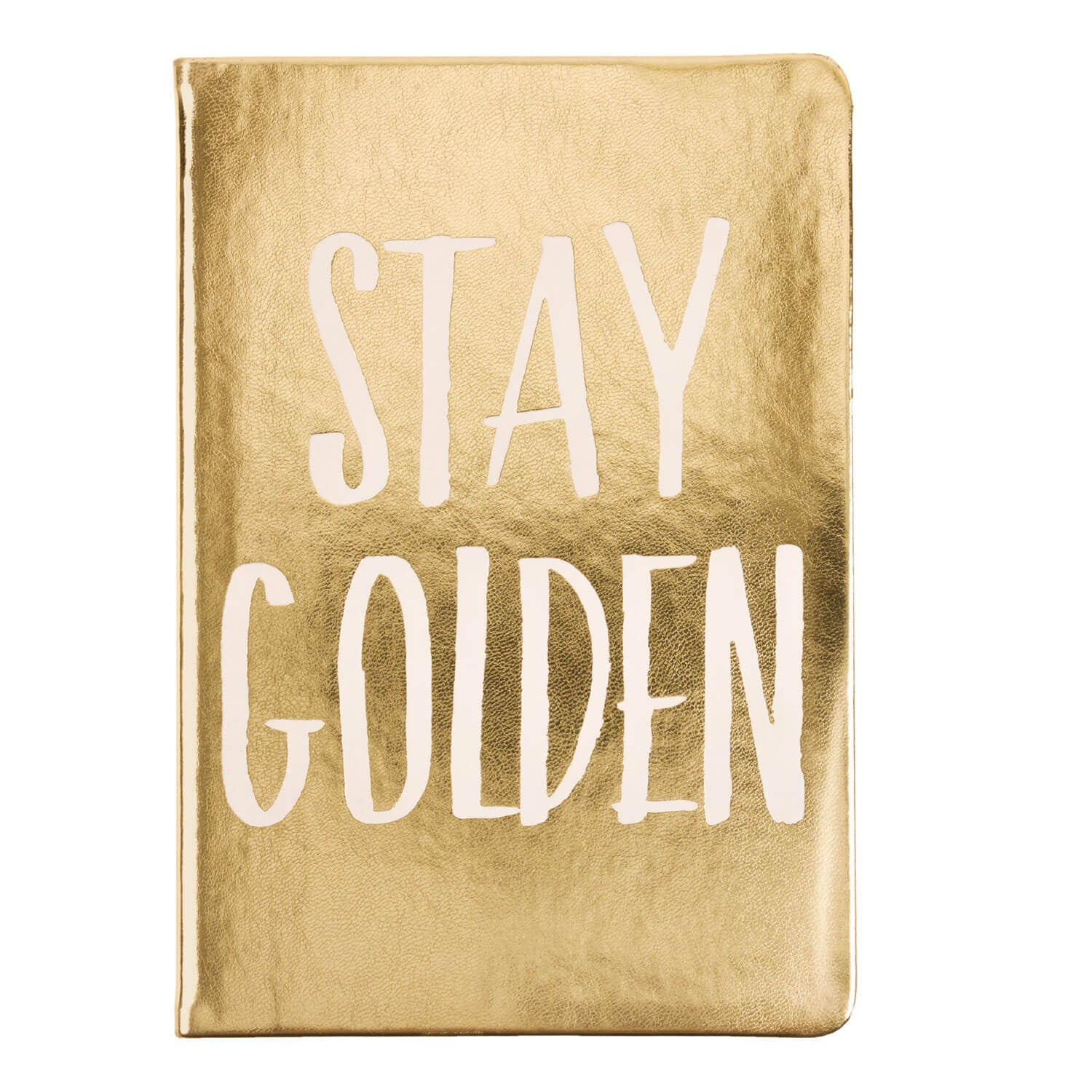 Stay Golden Notebook 6x8