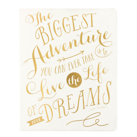 Big Dreams Notebook 8x10
