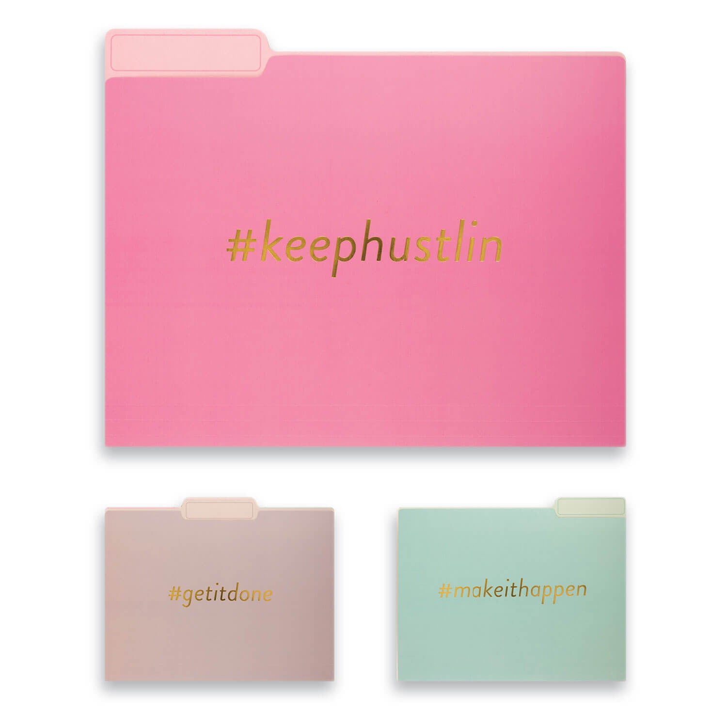 Hashtag File Folder Collection - Set of 9