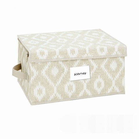 Zippered Storage Box - Medium