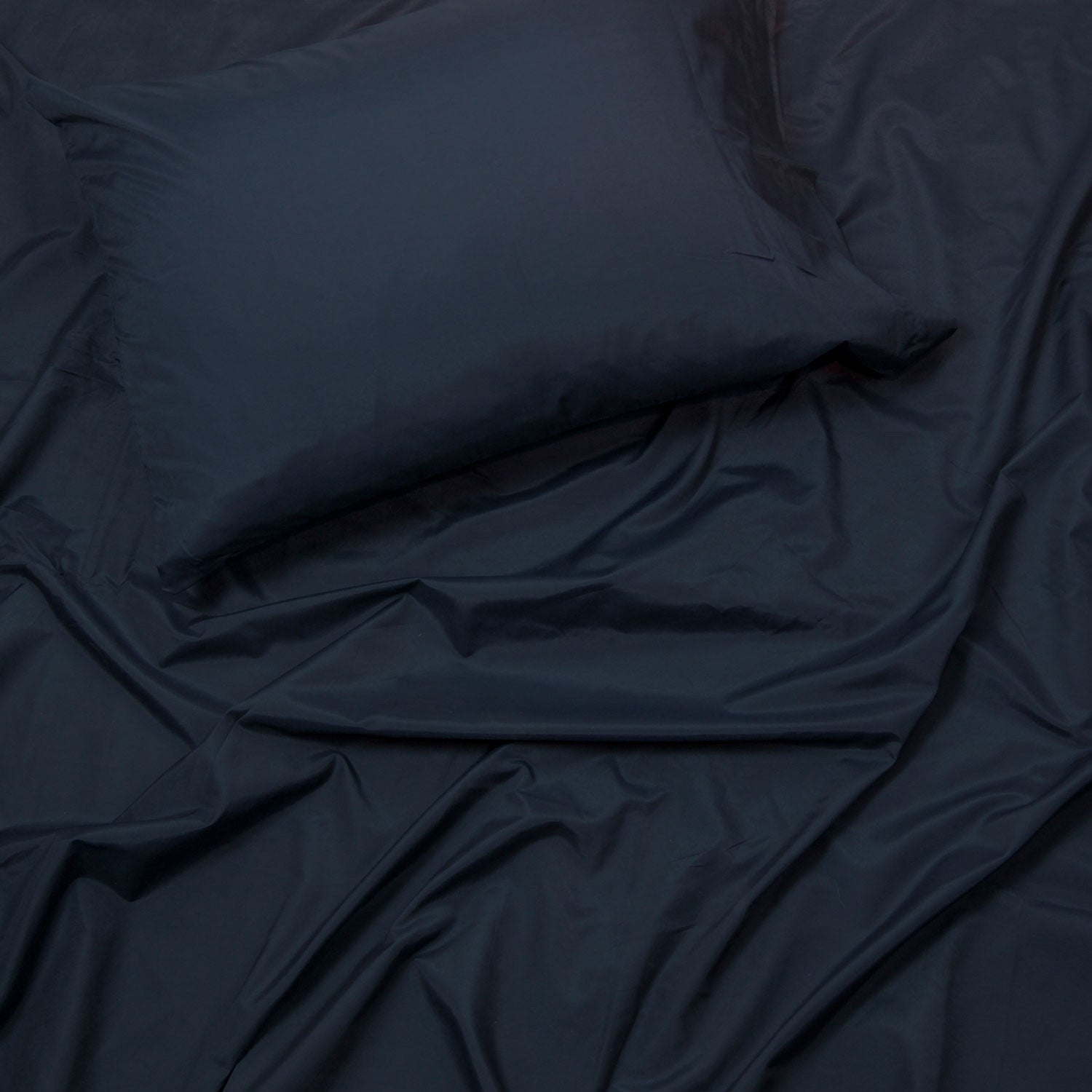 Perfect Sheet Set, 200 Thread Count, Cotton Blend - Navy Full