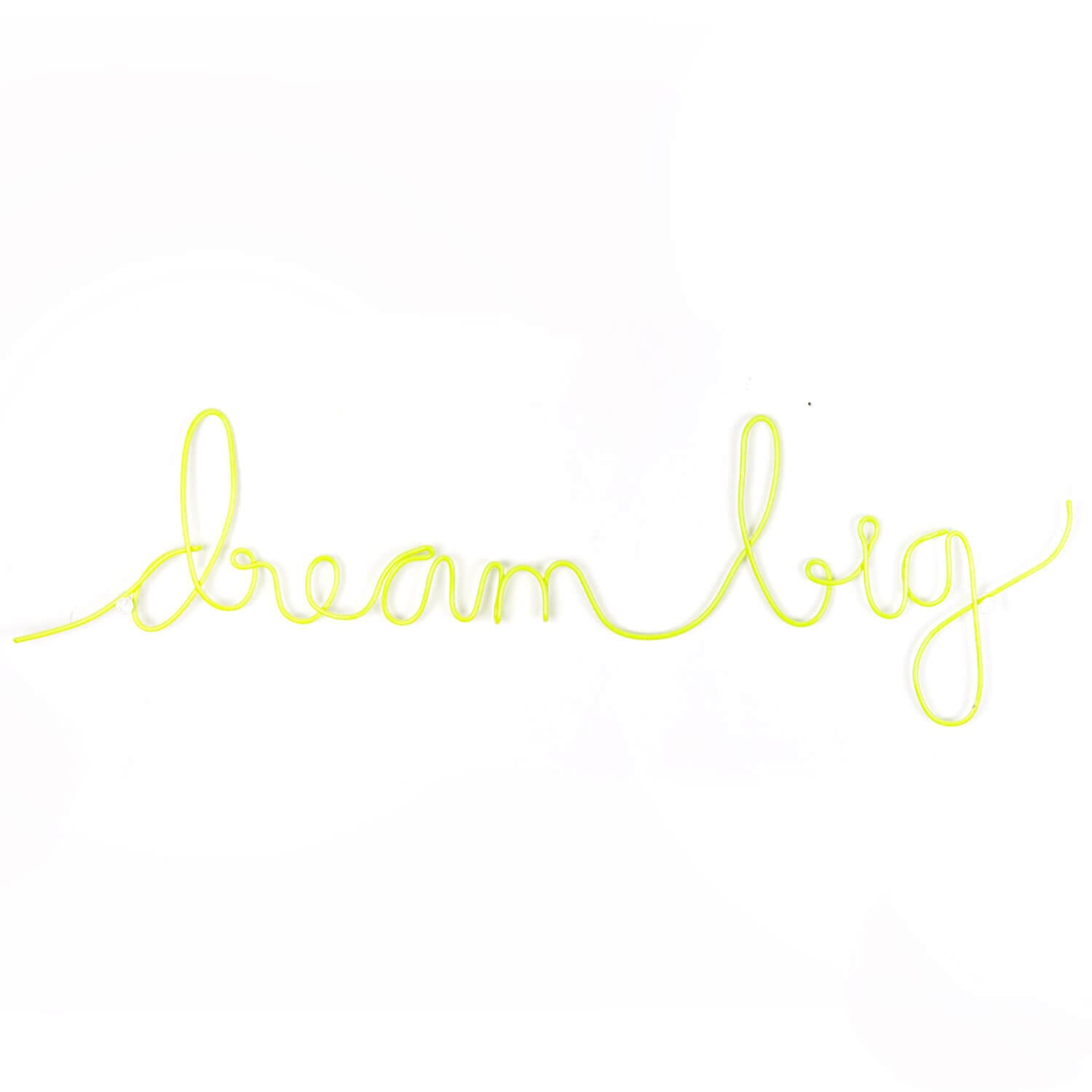 Dream Big Wire Word Wall Art