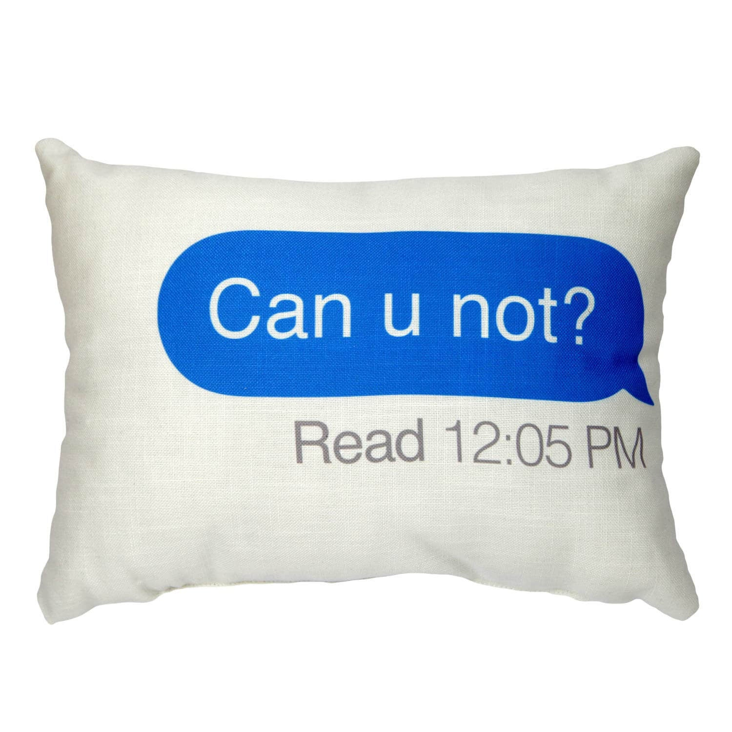 Can U Not Text Pillow