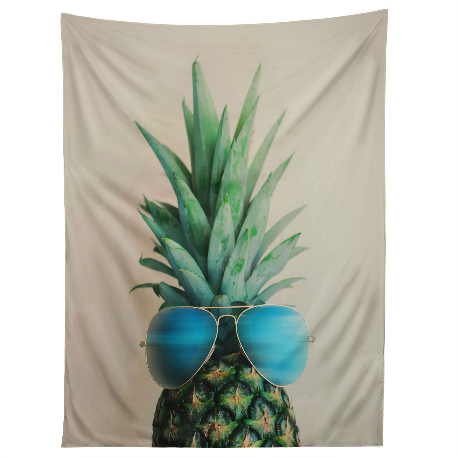 pineapple in paradise tapestry | wall