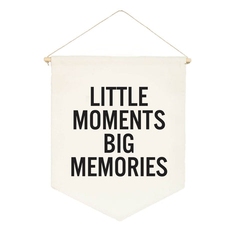 Little Moments Big Memories Banner