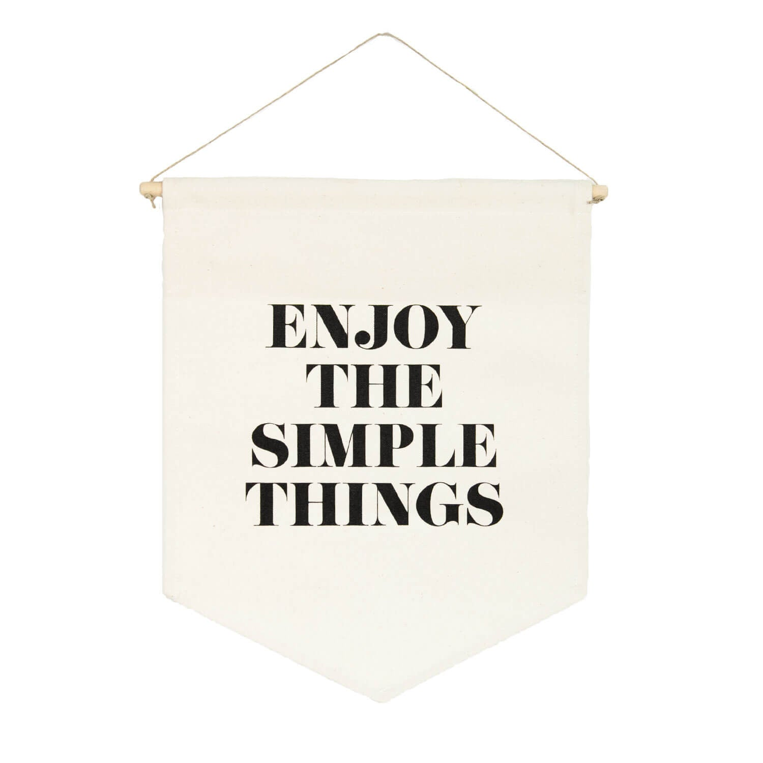 Enjoy the Simple Things Banner