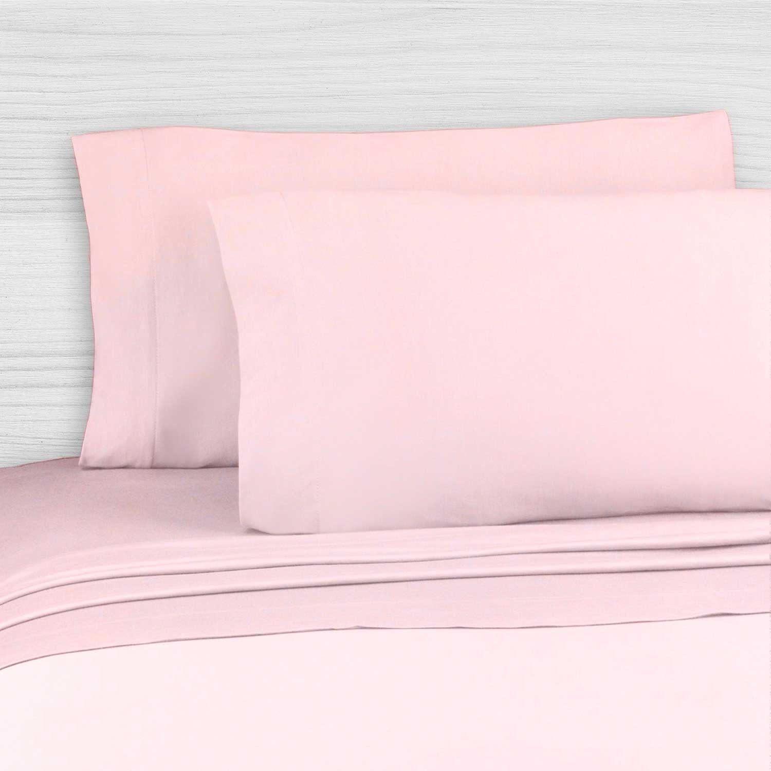 Perfect Sheet Set, 200 Thread Count, Cotton Blend - Light Pink Queen