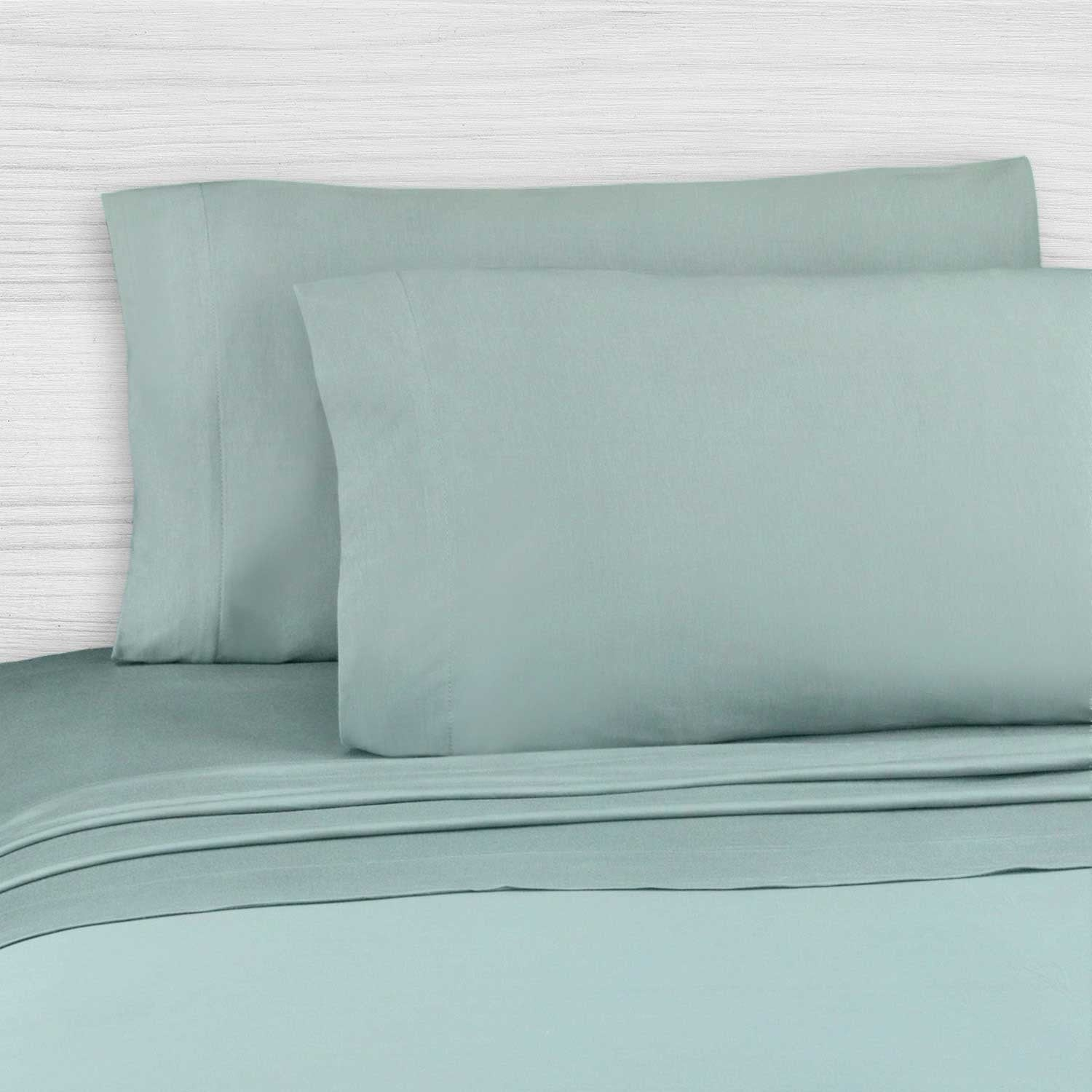 Perfect Sheet Set, 200 Thread Count, Cotton Blend - Sage Twin