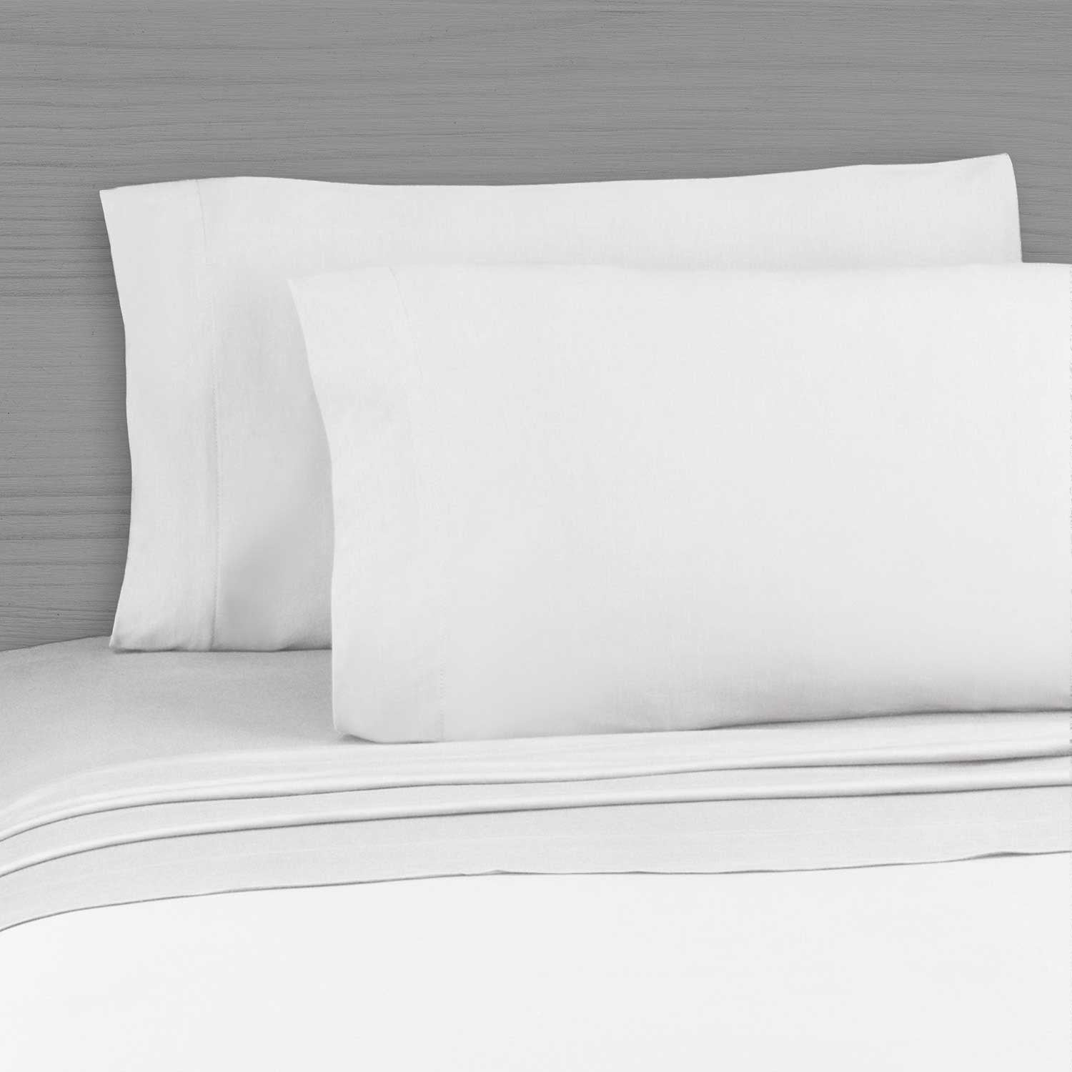 simple sheet set 220 thread count 100 cotton percale white dormify. Black Bedroom Furniture Sets. Home Design Ideas
