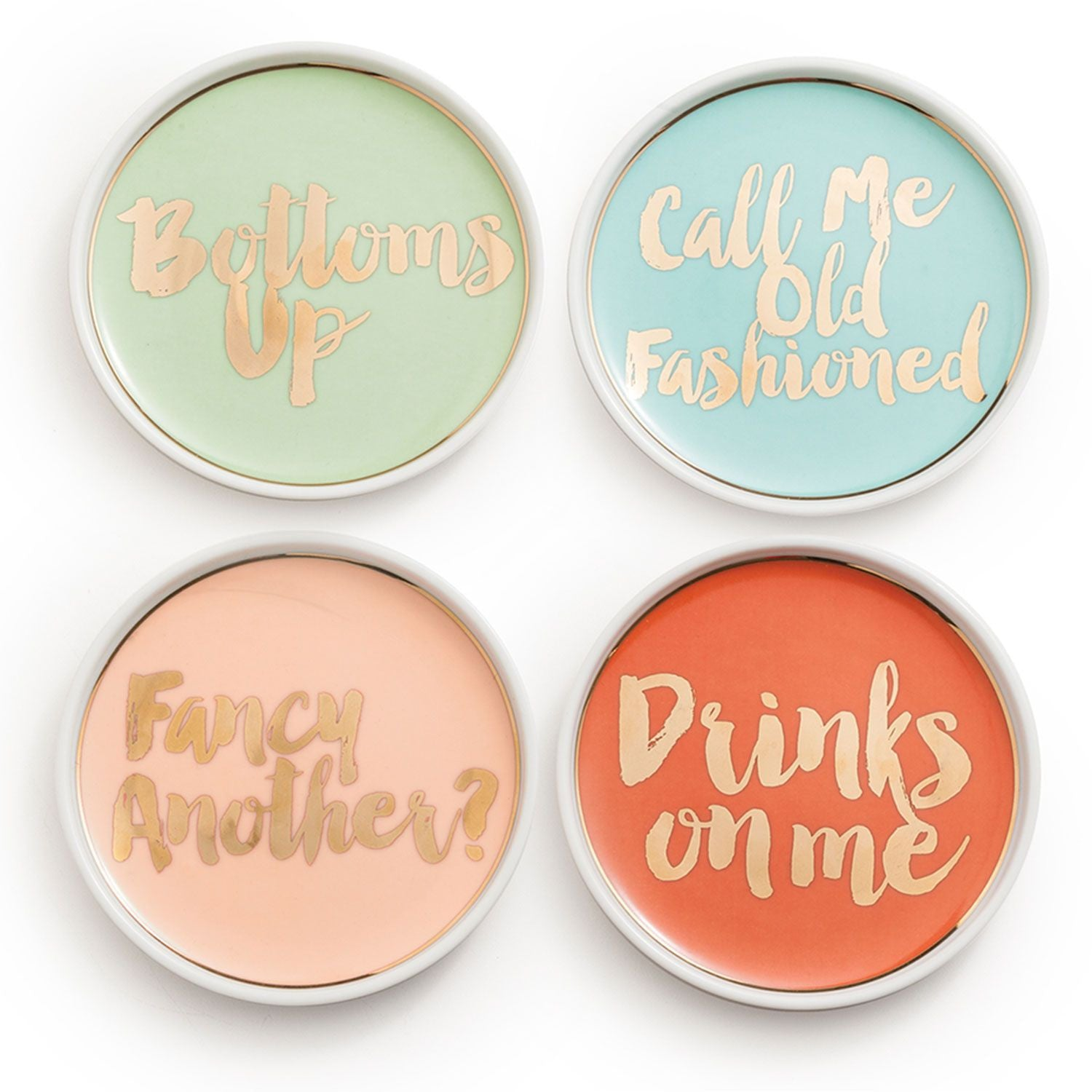 Chez Elle Coasters - Set of 4