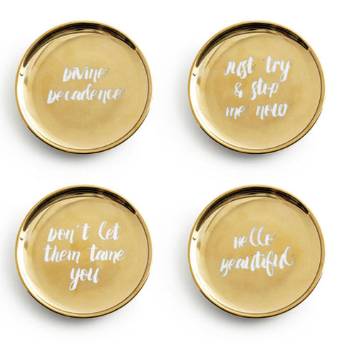 Jet Setter Coasters - Set of 4