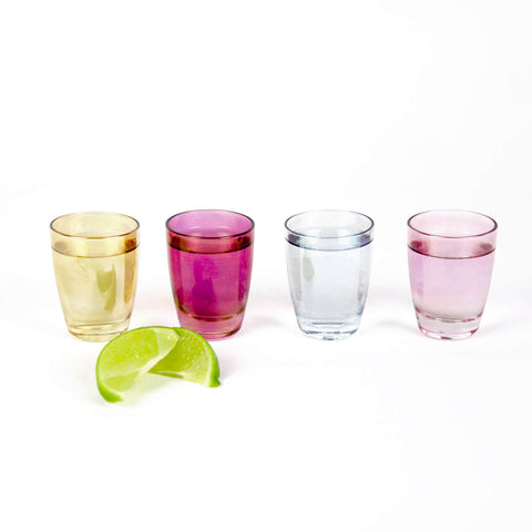 Chez Elle Lustre Highball Glasses - Set of 4