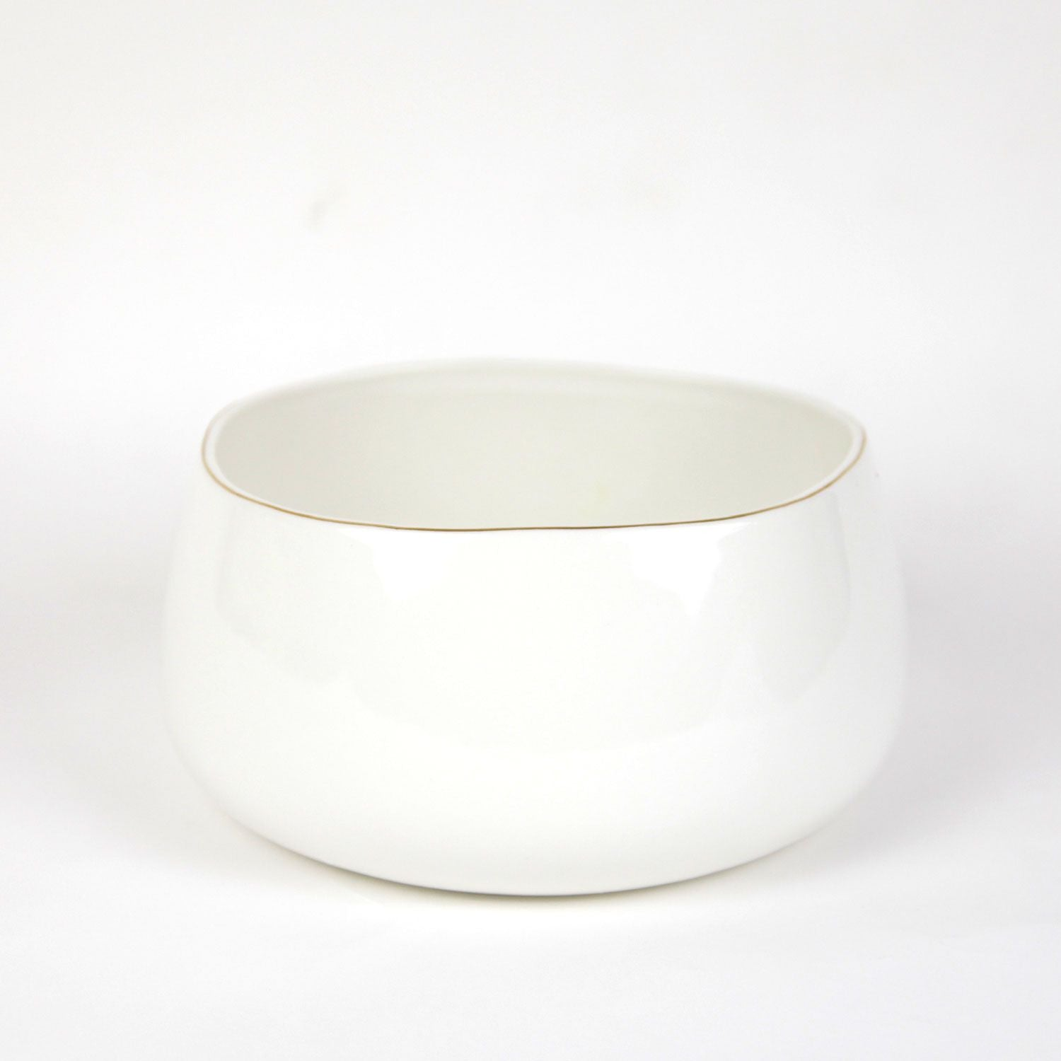 Pacifica Serving Bowl - Seashell White