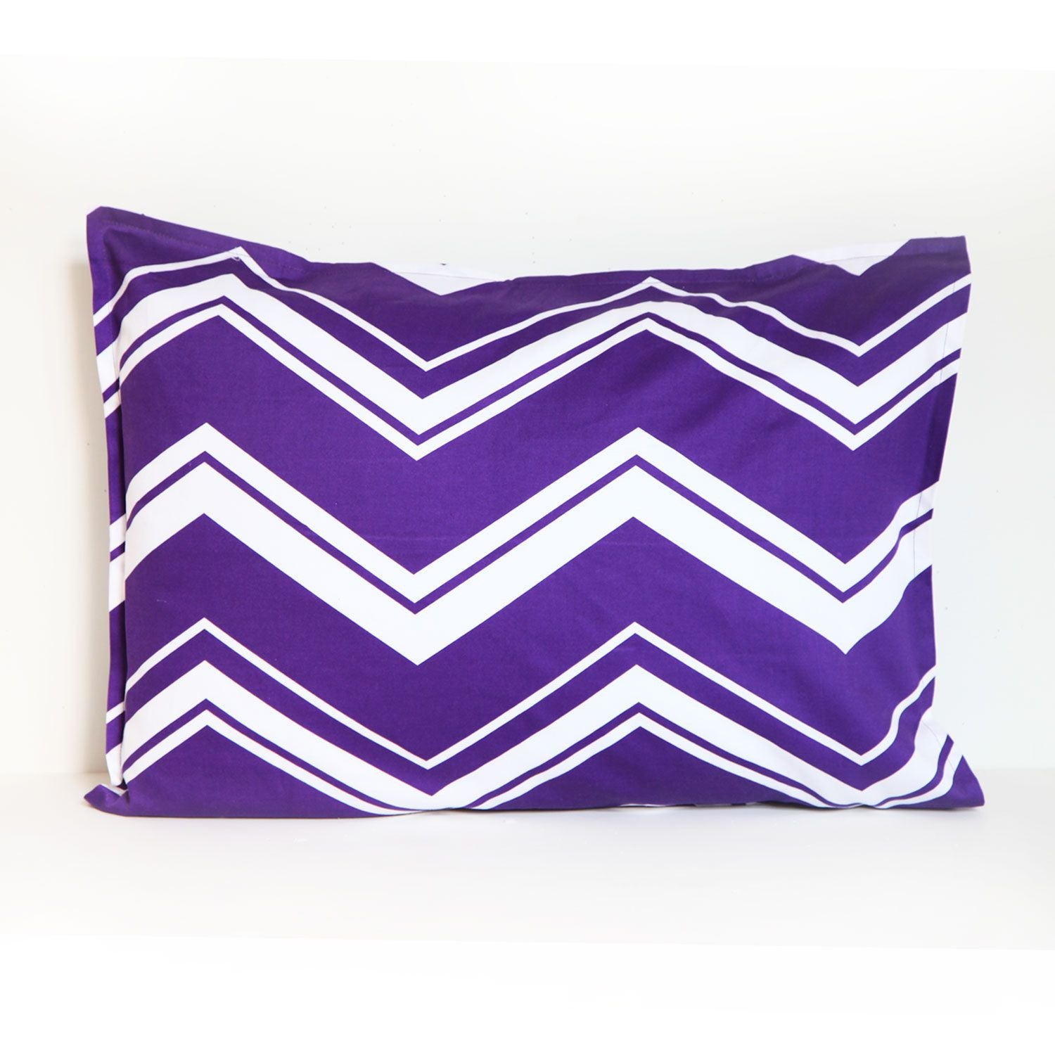 Striped Chevron Standard Sham
