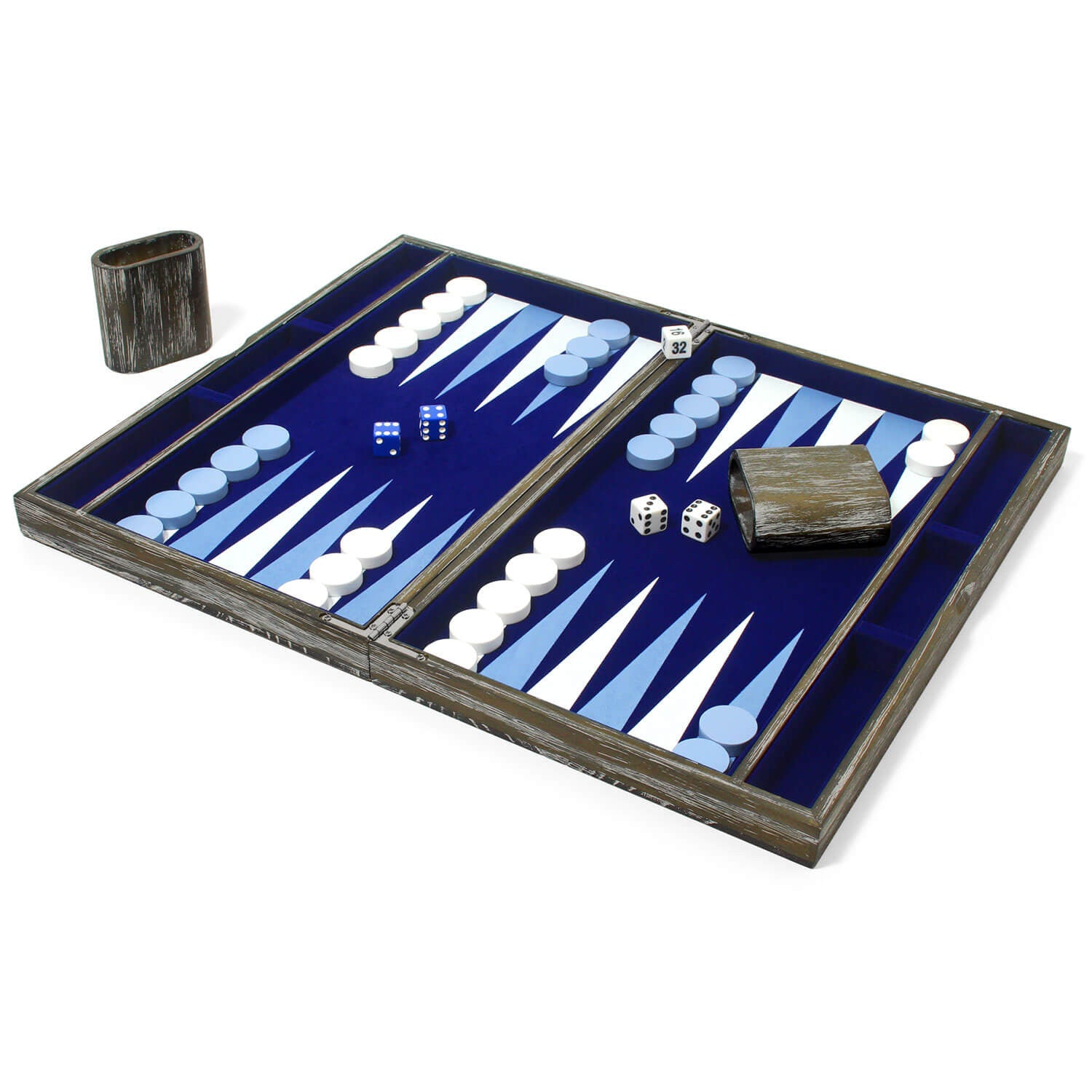 Vintage Backgammon Set