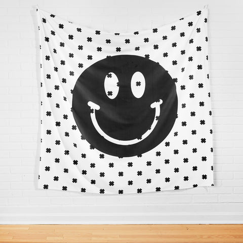 Smiley Face Tapestry
