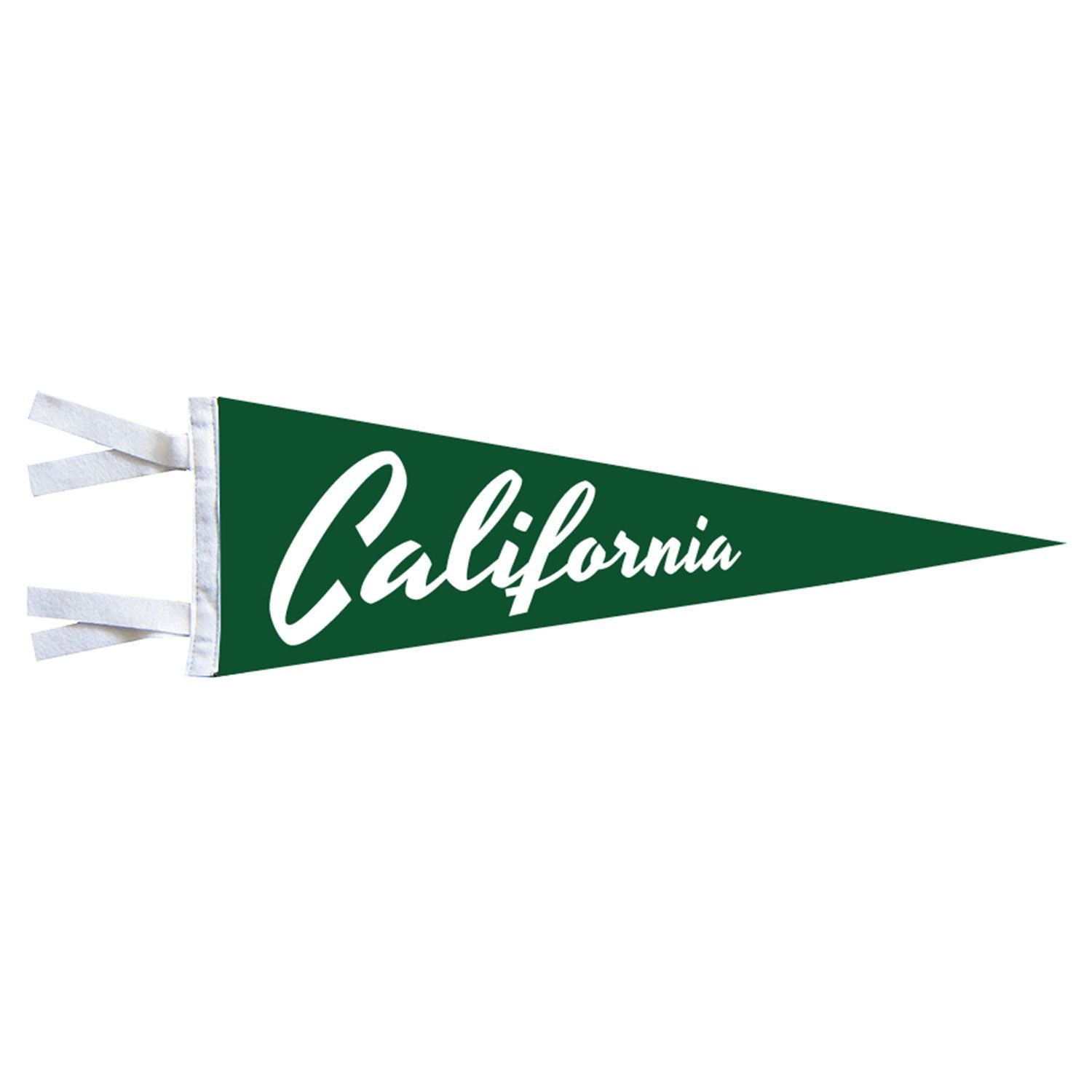 California Pennant - Green