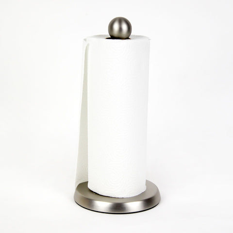 Teardrop Paper Towel Holder - Nickel