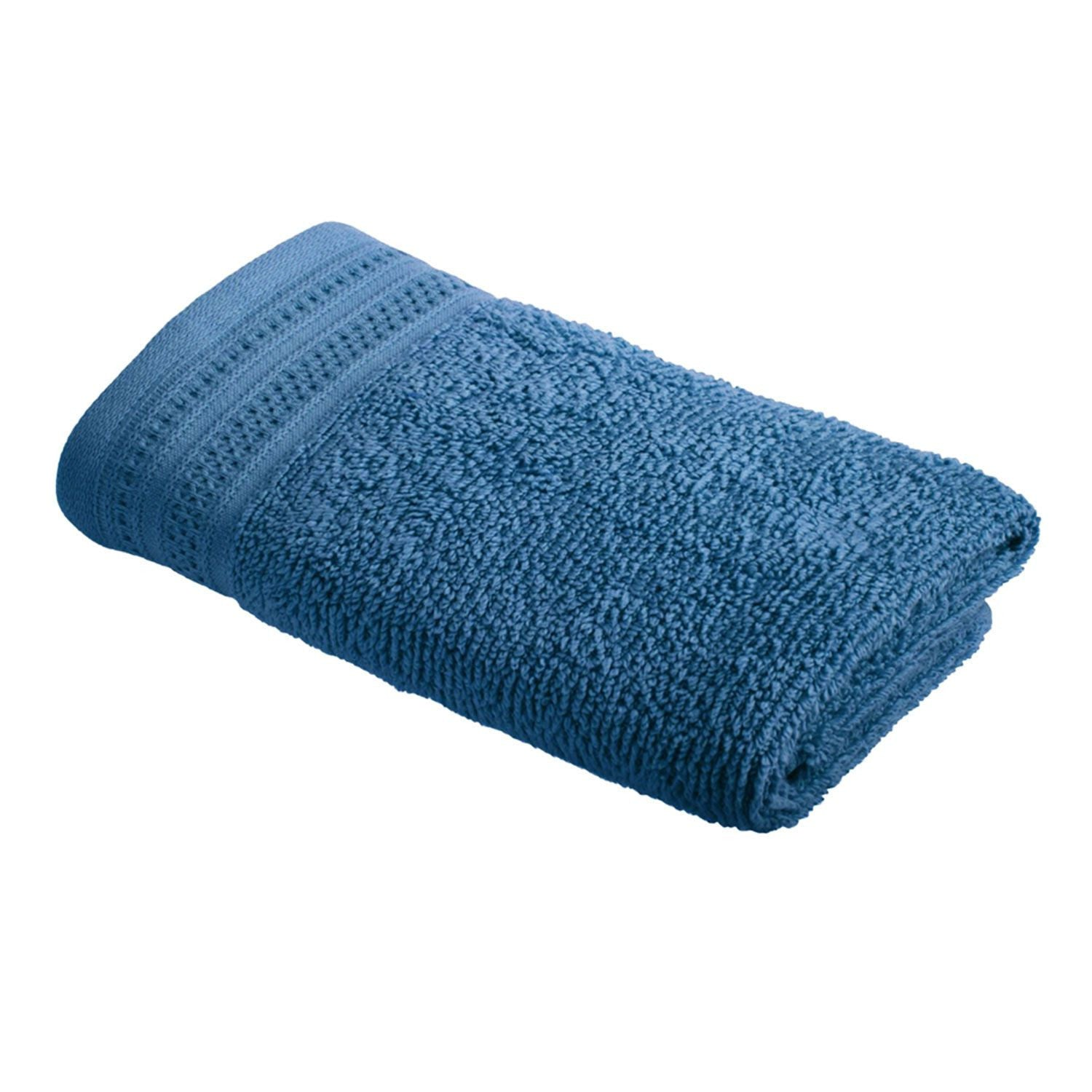 Crowning Touch Hand Towel - Denim
