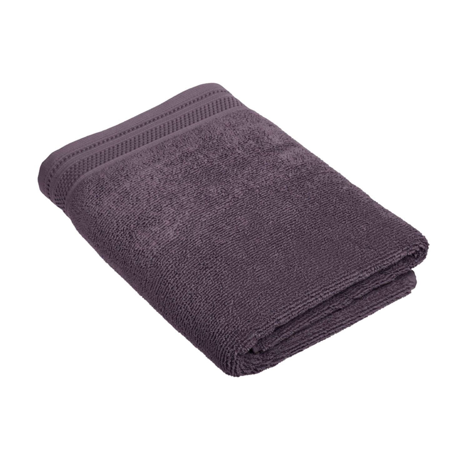 Crowning Touch Bath Towel - Eggplant