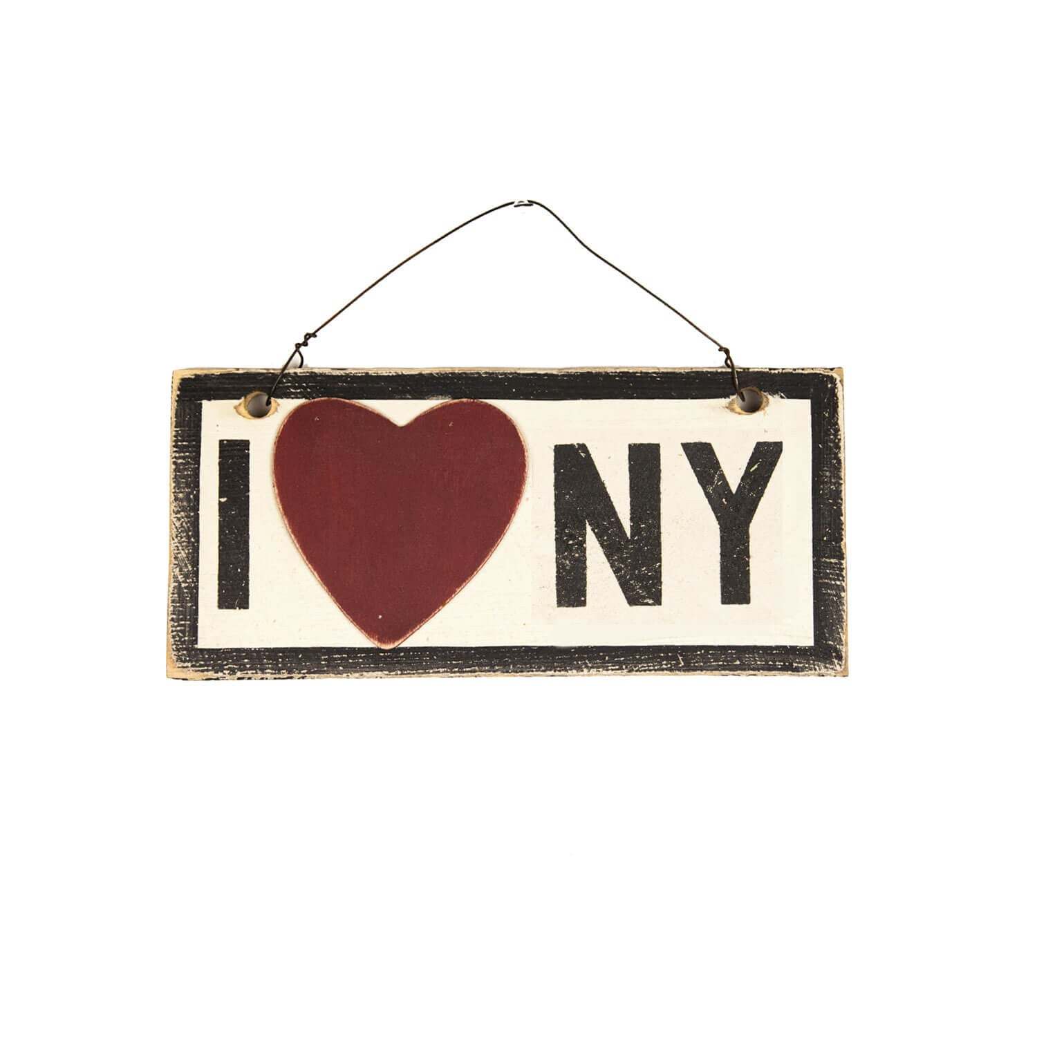 I Heart NY Wooden Sign