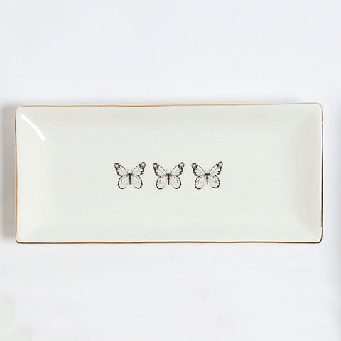 Butterfly Rectangular Tray