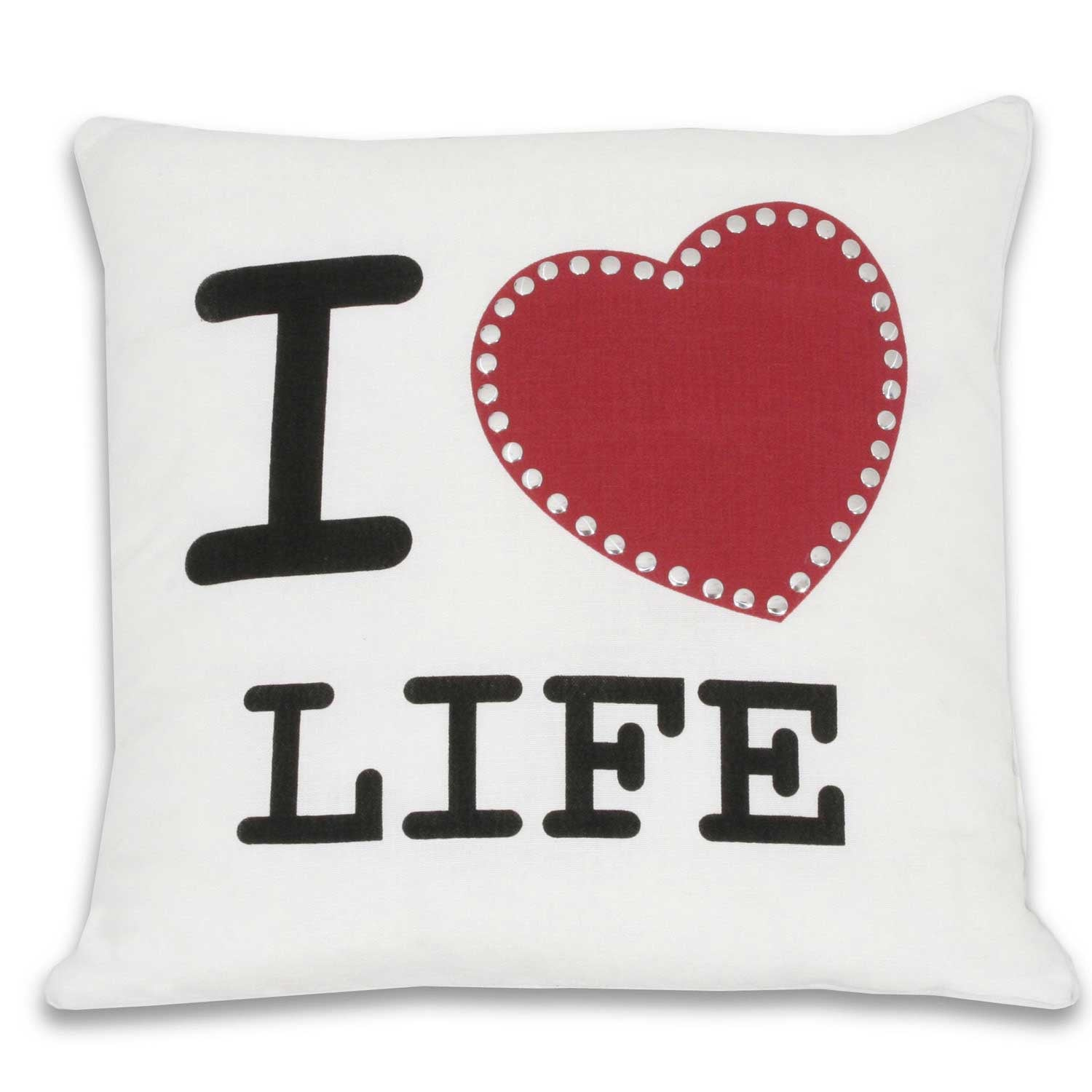 I Heart Life Pillow
