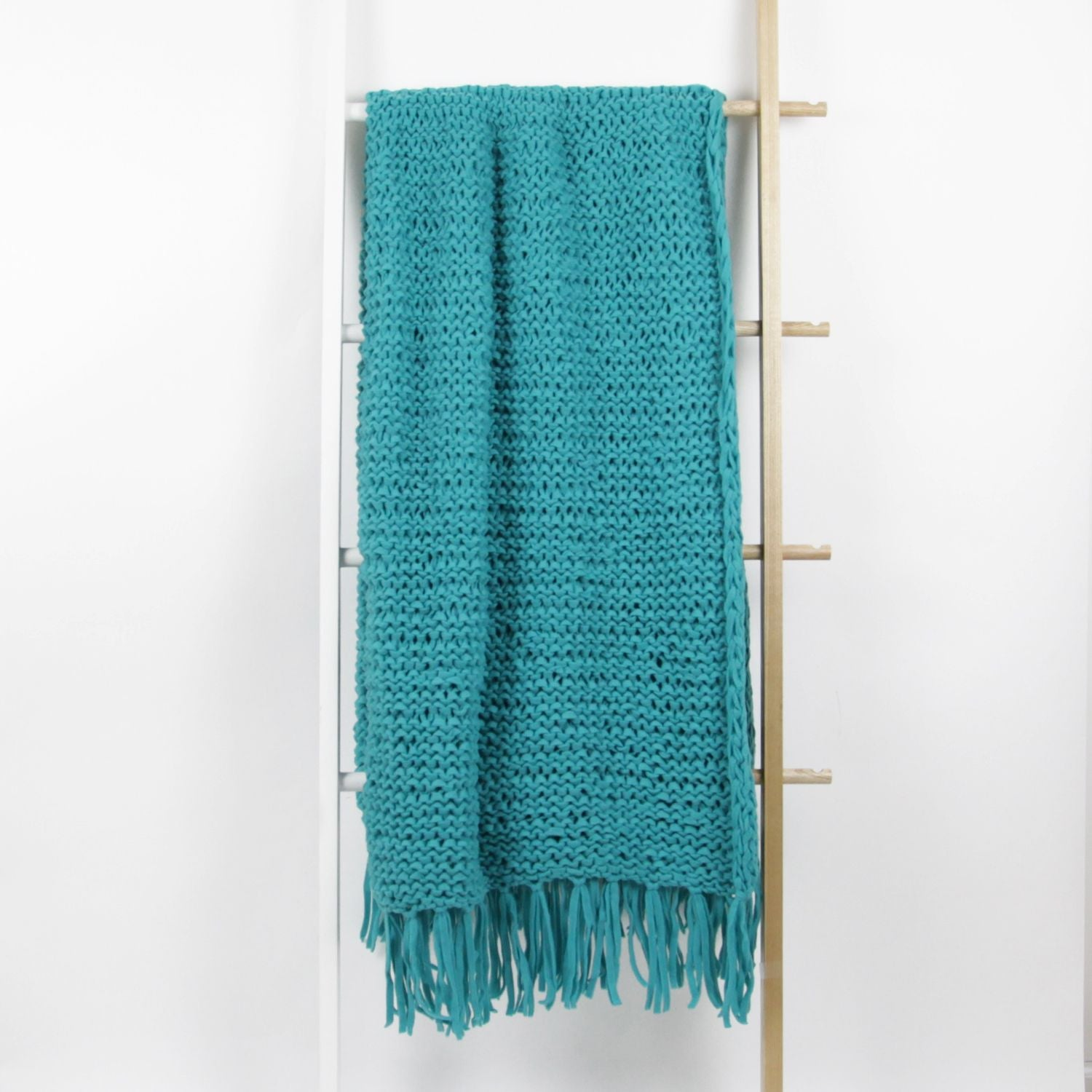 Paige Braided Chunky Knit Throw