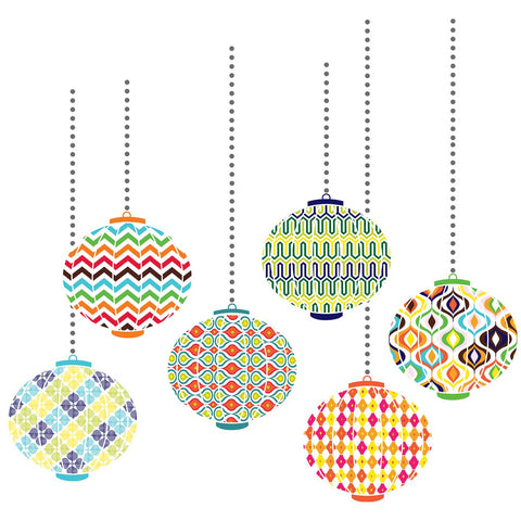 Jonathan Adler Lanterns Decal Kit