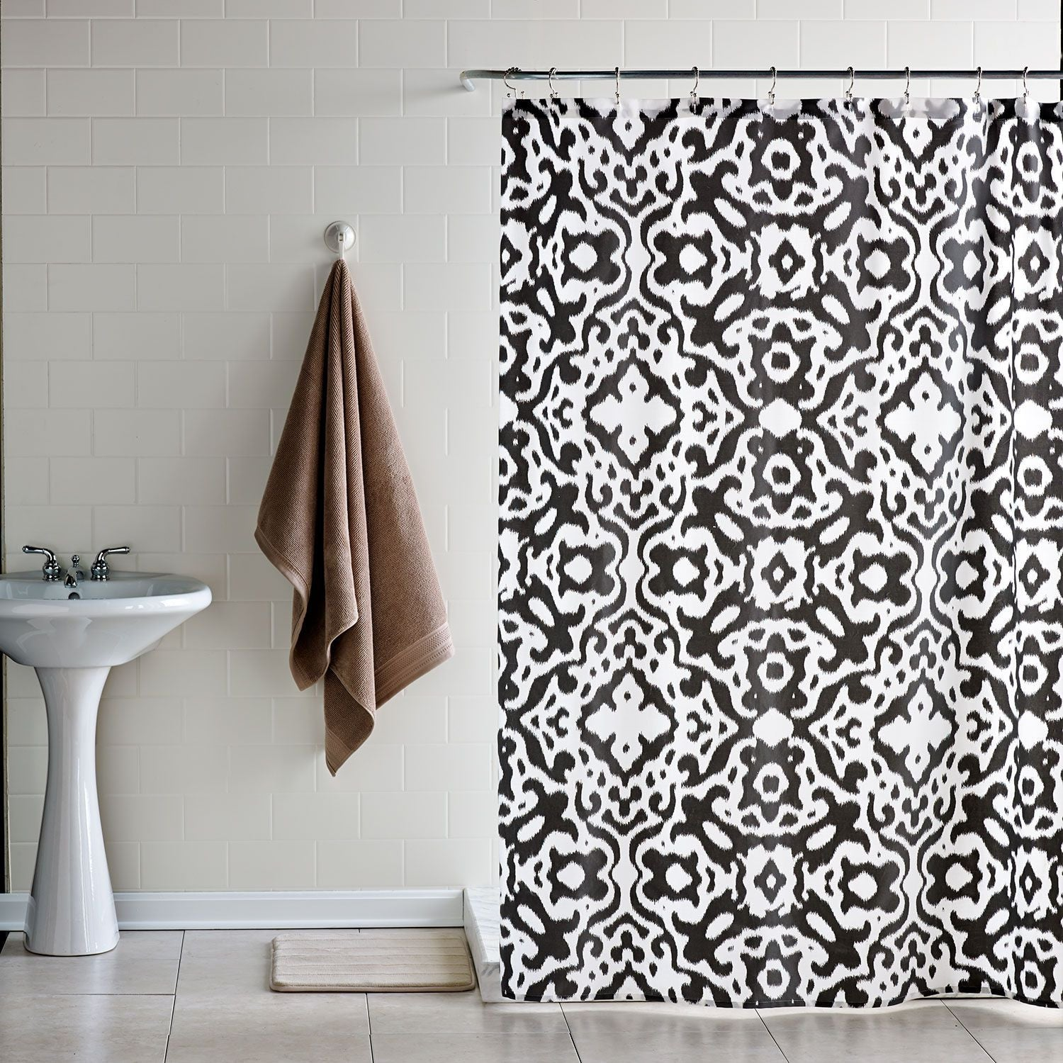Urban Ikat Shower Curtain