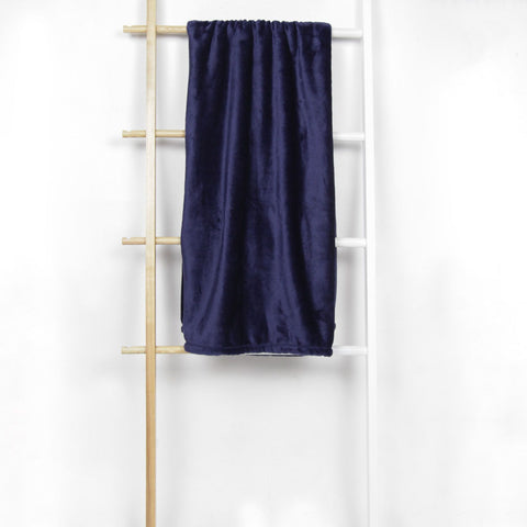 Verlane Throw Blanket - Navy