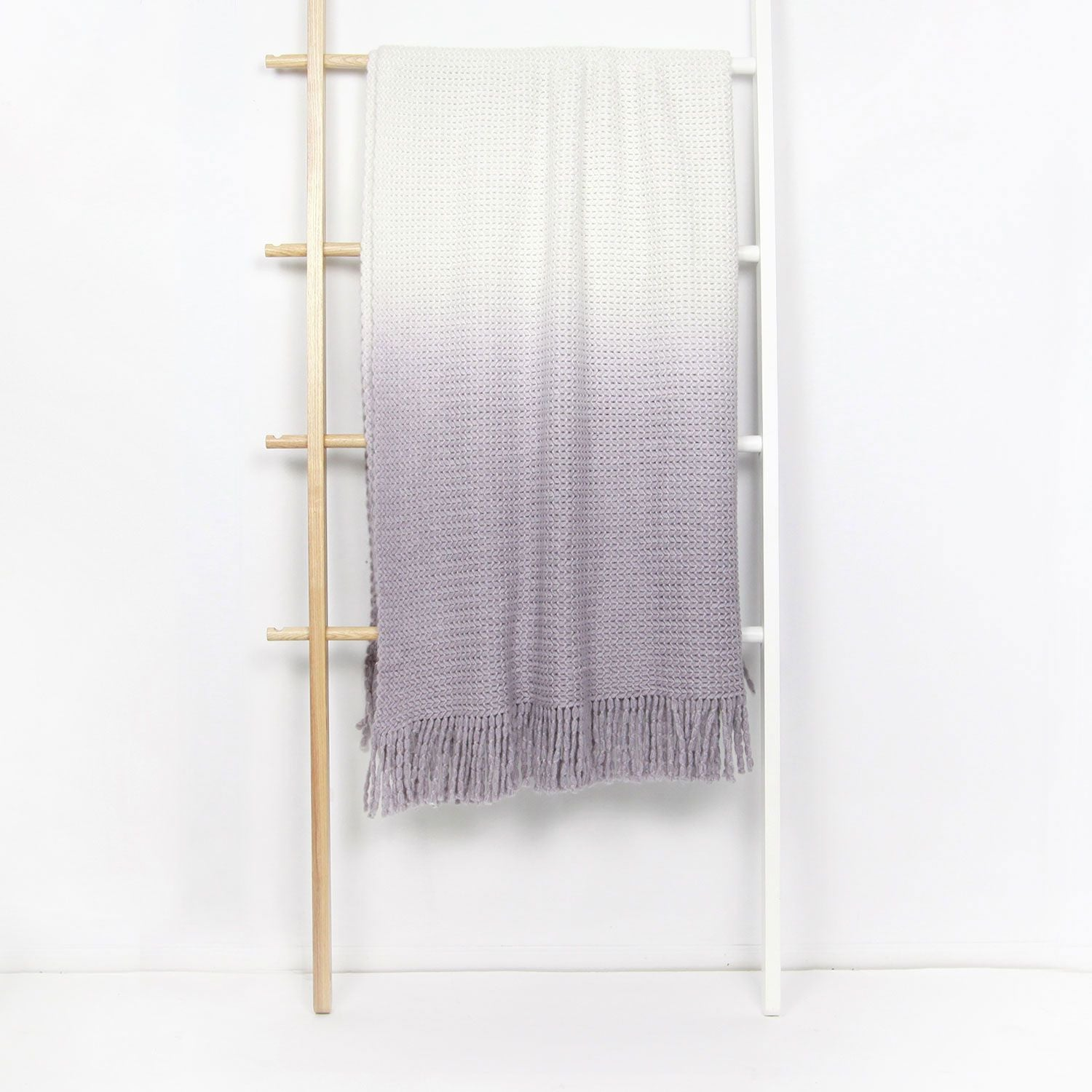 Ombre Knit Throw - Nirvana