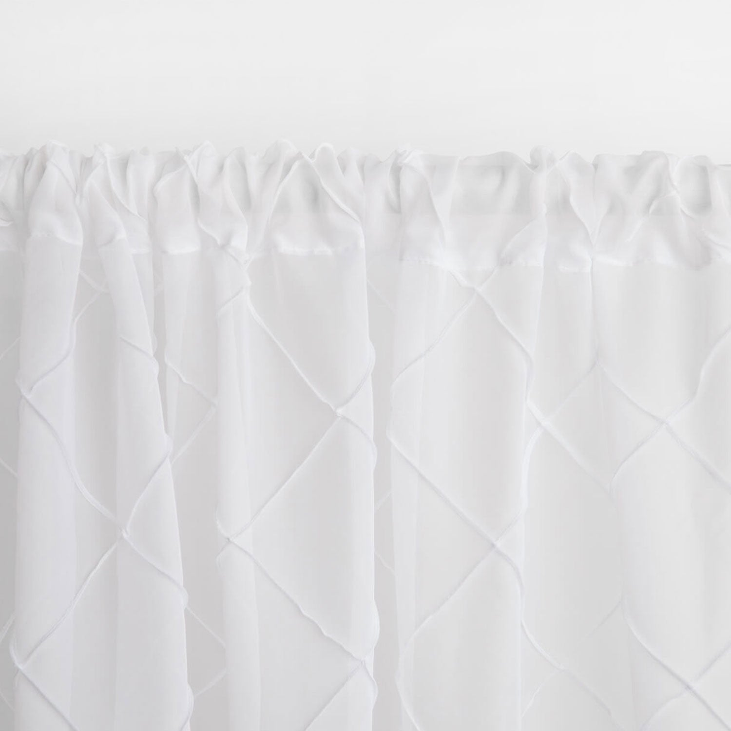 Sheer Pintuck Single Curtain